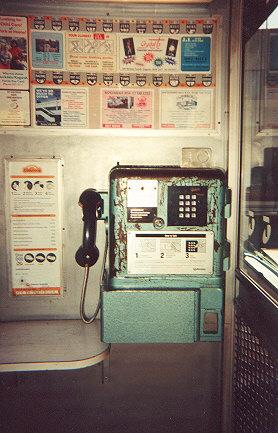 "An old green payphone retrofitted with a keypad (pulse only).  It takes 10c, 20c, 50c, and $1 coins.  Found only in a few street phone boxes in poorer suburbs or county towns.</BR></BR><span class=""date-display-single"" property=""dc:date"" datatype=""xsd:dateTime"" content=""1995-11-02T00:00:00+00:00"">Nov 02, 1995</span>"
