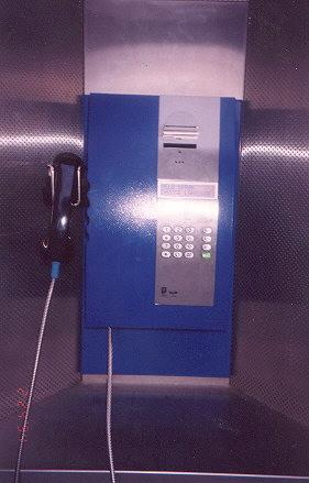 "Newer phone.  Featured multiple languages for instructions and accepted the popular debit phone cards, with a chip on the card.</BR></BR><span class=""date-display-single"" property=""dc:date"" datatype=""xsd:dateTime"" content=""1994-03-11T00:00:00+00:00"">Mar 11, 1994</span>"